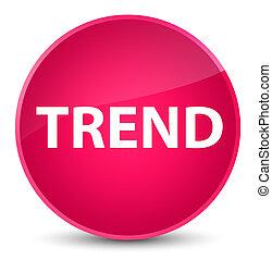 Trend elegant pink round button