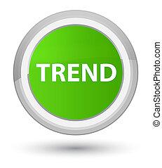Trend prime soft green round button