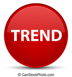 Trend special red round button