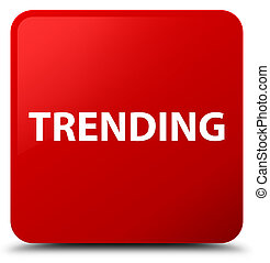 Trending red square button