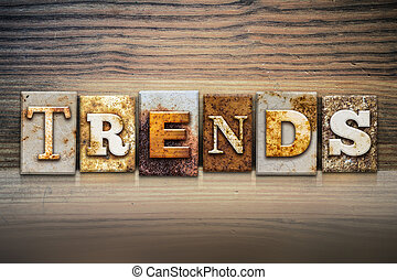 Trends Concept Letterpress Theme