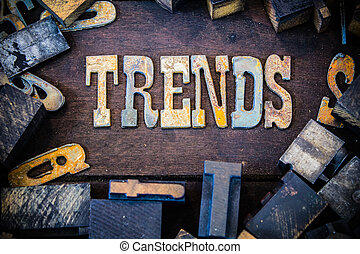 Trends Concept Rusty Type