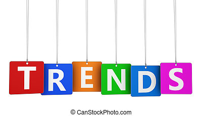 Trends Sign On Tags