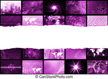 Trendy Backdrop Abstract - Trendy Digital Abstract With ...