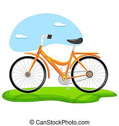 trendy, bicicleta