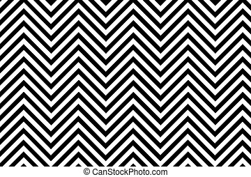 Trendy chevron patterned background black and white