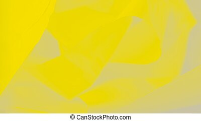 Trendy color yellow green sheen fabric panorama background
