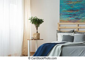 Trendy designed bedroom
