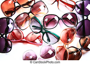 Trendy Eyewear - Summer Eyewear for Women - Isolated on...