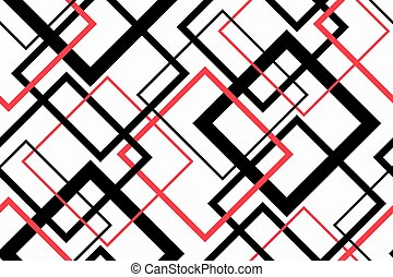 Trendy Geometric Seamless Pattern