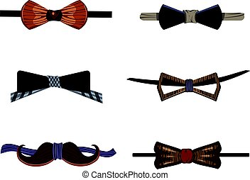 Trendy Hipster Wooden Bow Ties Collection
