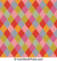 Trendy pale colors rhombus pattern background design element
