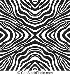 Trendy seamless zebra background