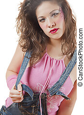 Trendy teenager