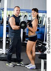 trener, klub, kobieta, lekkoatletyka