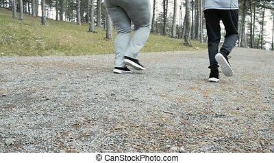 trener, przeważać, park, wyścigi, pociągający, stosowność, woman.