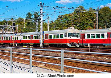 treni passeggero, in, finlandia