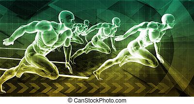trening, fizyczny