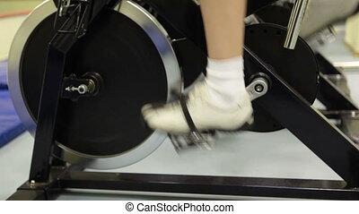 trening, rower