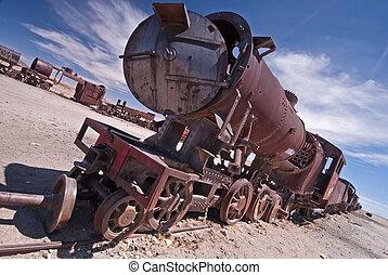 treno, abbandonato