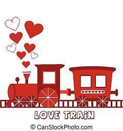 treno, amore, scheda