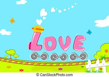 treno, amore