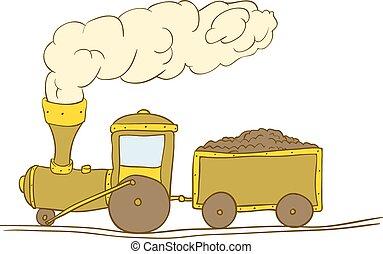 treno, carino