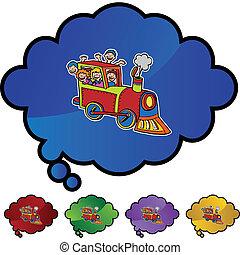 treno, cavalcata
