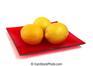 tres, limones