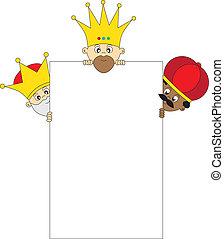 tres, reyes