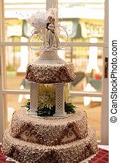 tres, tarta boda tiered
