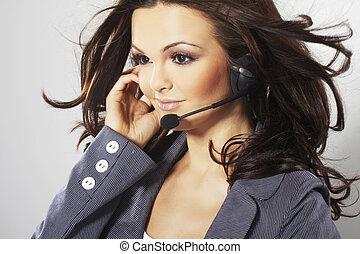 trevlig, hotline, operatör