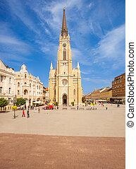 (trg, 広場, slobode), novi, 自由, 悲しい, 大聖堂