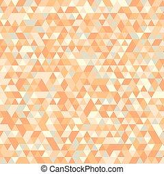triángulos, patrón, plano de fondo