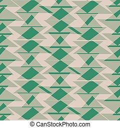 triângulo verde, textura, seamless, padrão, fundo