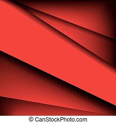 triângulos, arte abstrata, fundo, com, lugar, para, seu, text., vetorial, ilustração