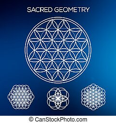 triângulos, elements., geometry., formas, abstratos, style.,...