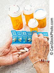 tri, pilules