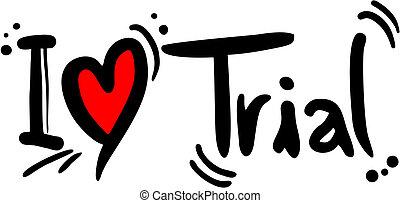 Trial love