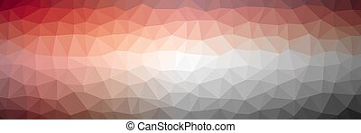 Triangle abstract color background illustration. Colors: ...