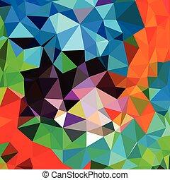 triangle, abstrakcyjny, wektor, geometryczny, tło