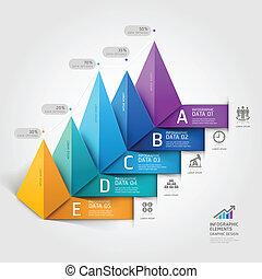triangle., affaires modernes, 3d