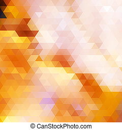 Triangle autumn color background.