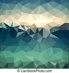 Triangle background. Colorful polygons. Abstract background
