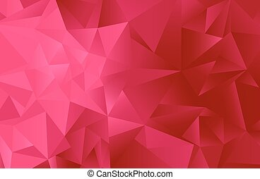 Triangle Background - Interposing triangle's creating an...