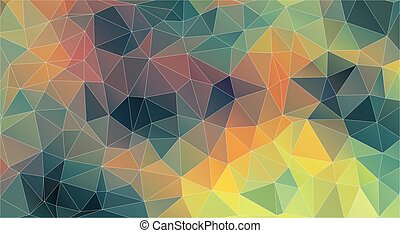 Triangle background. Original vintage color