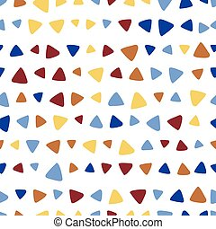 Triangle colorful seamless pattern
