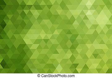 Triangle design template