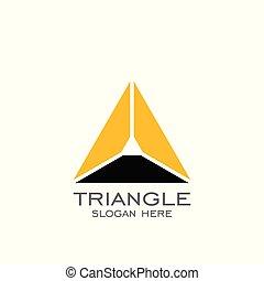 Triangle logo design