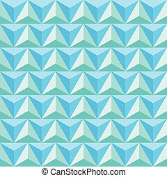 Triangle pattern. Seamless vector design. Abstract background